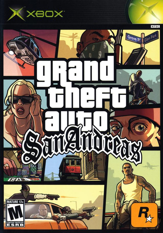 grand theft auto san andreas cheats xbox: